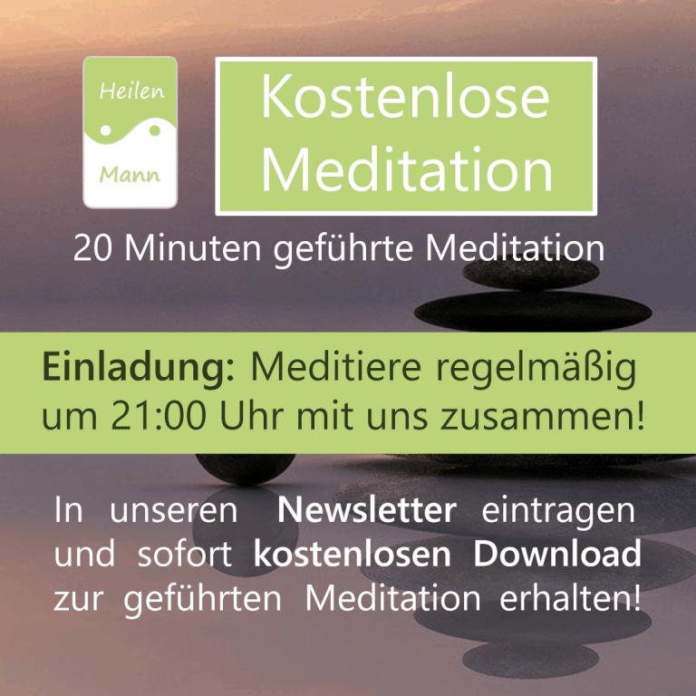 Kostenlose geführte Meditation von Energieheiler Dirk Heilenmann