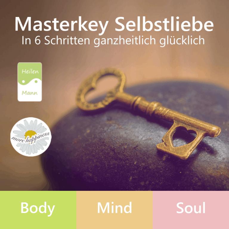 Masterkey Selbstliebe Onlinekurs für Selbstliebe