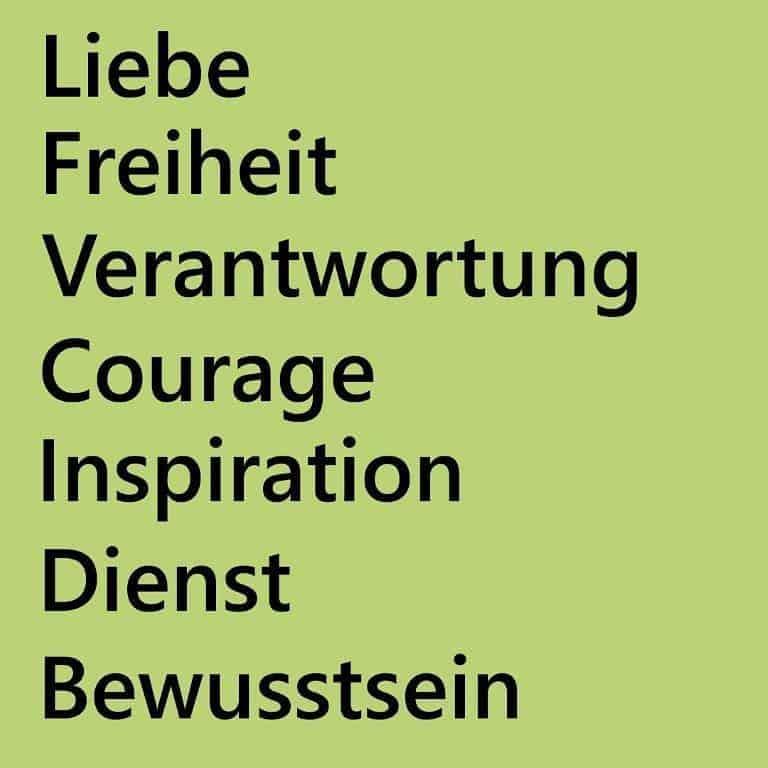 HeilenMann Intuitives Heilen: Unsere Werte