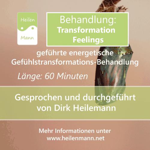 "Geführte Energiebehandlung ""Transformation Feelings"""